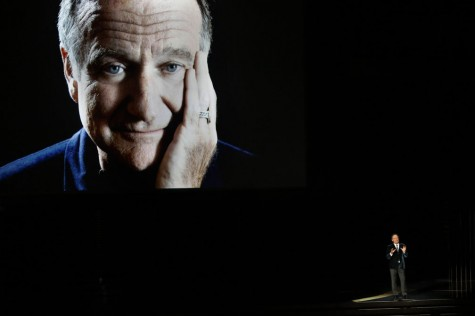 Students Say Good-bye to Robin Williams