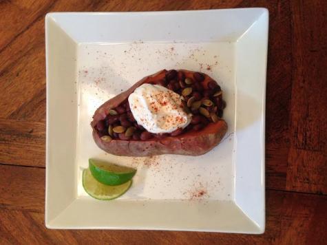 Healthy Recipe of the Week: Baked Sweet Potatoes!
