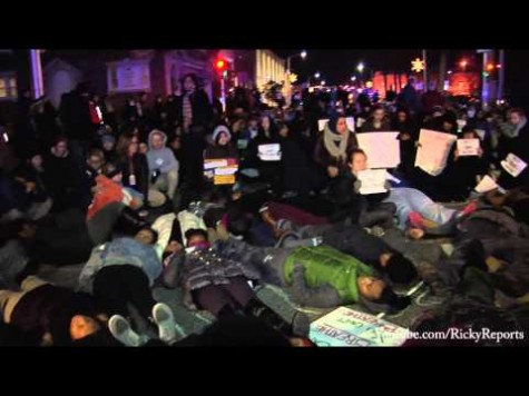 Black Lives Matter/ Die In, Bryn Mawr