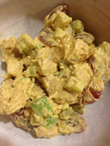 Healthy Recipe of the Week: Chicken Curry Salad!