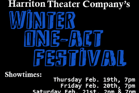 HTC's Winter One-Act Festival Feb. 19th-21st