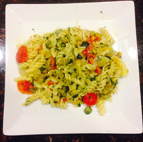 Healthy Recipe of the Week: Garden Pasta!