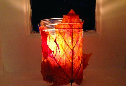 Weekly Seasonal: Mason Jar Candle Holder