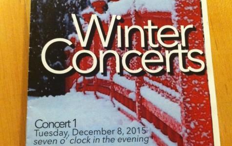 Second Winter Music Concert Dec. 16