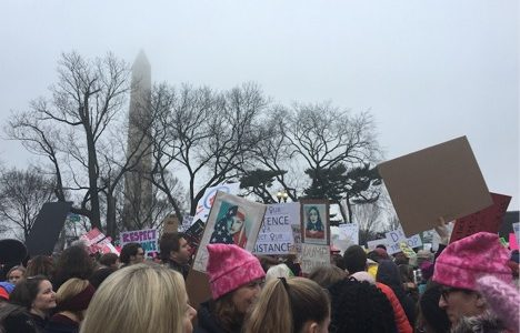 On Being a Young Woman at the Women's March on Washington