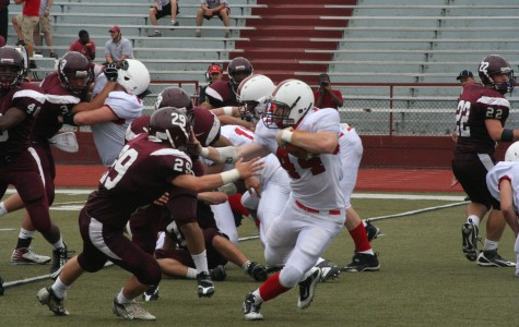 Rams Football Defeats Rival Aces in Season Opener