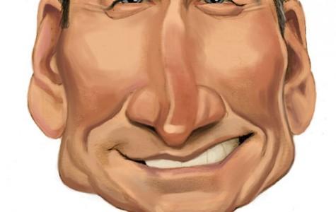Illustration of Apple CEO Tim Cook. (Chris Ware) / MCT 2012