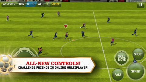 FIFA 13: Click to go to iTunes store.