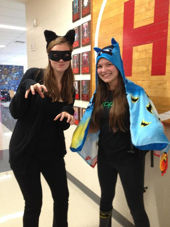 POW! Superheroes Arrive at Harriton