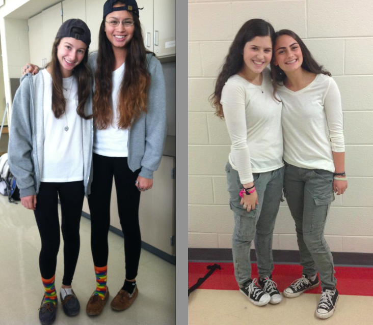 Starting Off Spirit Week With Twin Day