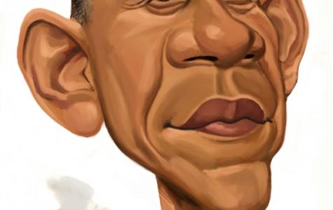 Chris Ware illustration of U.S. President Barack Obama. MCT 2012