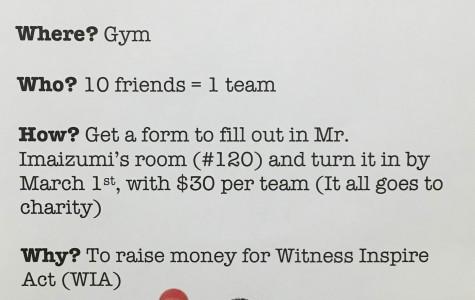 Student-Run Dodgeball Tournament to Benefit WIA