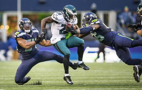 Philadelphia Eagles running back Wendell Smallwood at CenturyLink Field in Seattle, Wash. (Dean Rutz/Seattle Times/TNS)