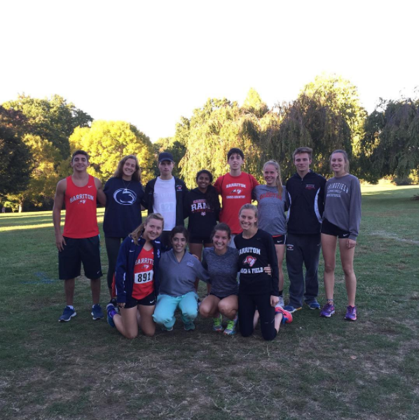Seniors at the Central League Meet