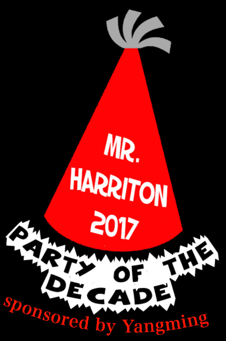 Last year's Mr. Harriton theme. What will this year's theme be?