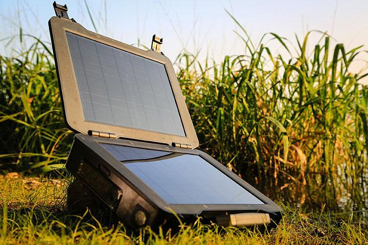 Renogy, a leading expert in renewable, non-traditional energy, unveils the Phoenix, a personal solar energy solution that transforms the power of the sun into easy-to-use dependable energy. The Phoenix is designed for mobile, off-grid applications and is ideal for emergencies. (Handout/TNS)
