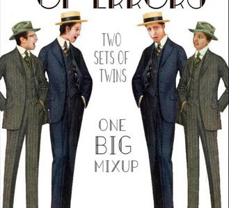 "Interview with ""The Comedy of Errors"" Twins!"