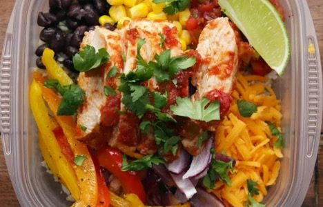 Recipe of the Week: Chicken Burrito Bowls