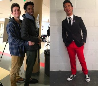 Meet Mr. Harriton Contestants: Jacob Eiseman, Markee Marshall, Alex Wu
