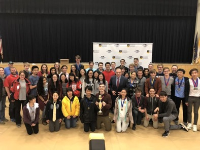 Science Olympiad: First Place at Regionals