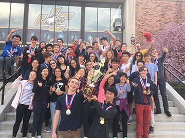 Harriton Science Olympiad Team Wins State Championship