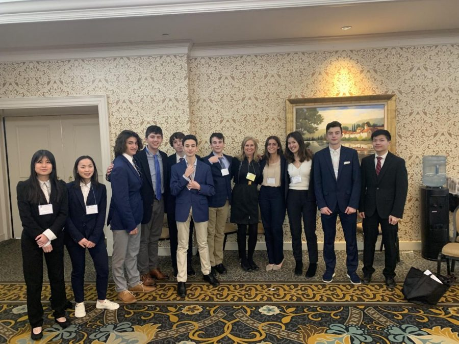 Harriton's DECA Team Attends The 2020 State Conference