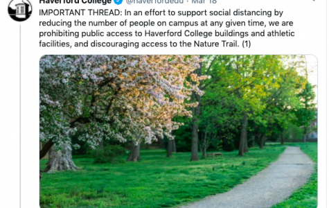 Haverford College Prohibits Public Access to the Nature Trail