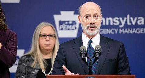 "Governor Wolf Extends School Closure and Issues ""Stay at Home"" Order"