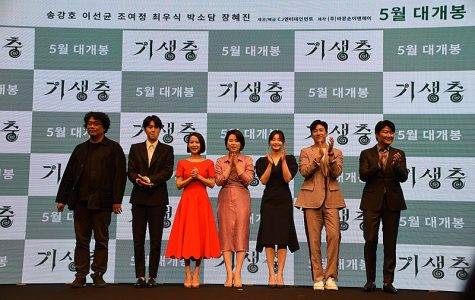 The film's director and cast.