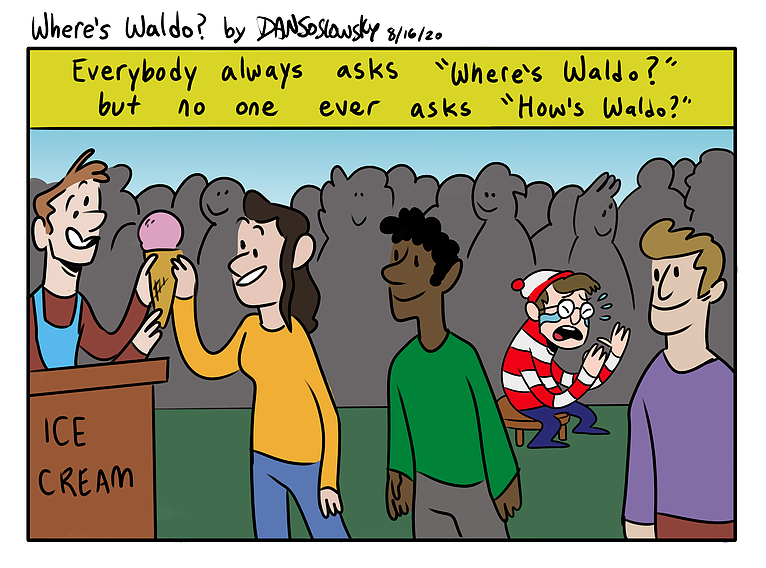 Comic Of The Week: Emotional Waldo