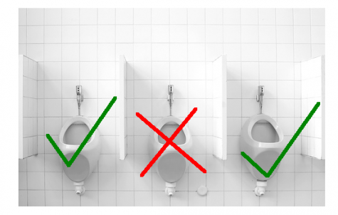 Student Shocked To See Chemistry Teacher Peeing In Middle Urinal