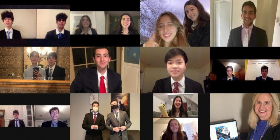 Harriton Competes at DECA Virtual Competition