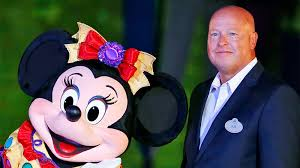 The new CEO of Walt Disney World, Bob Chapek