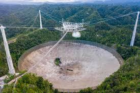 Arecibo Telescope: An Astronomical Crash
