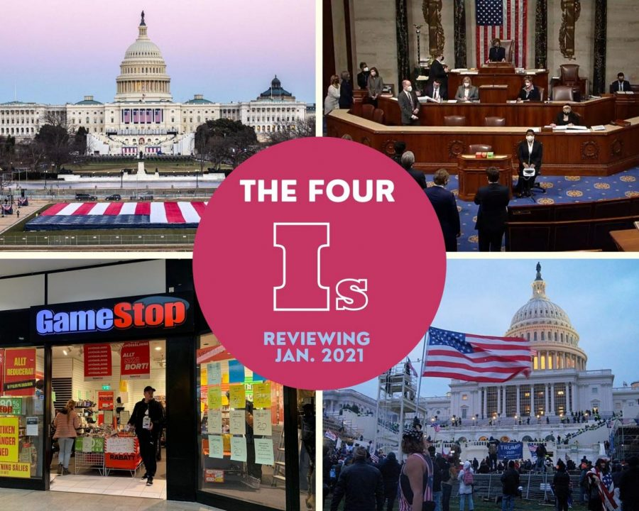 The Four I's: Reviewing January 2021