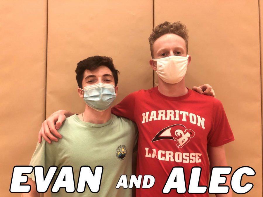 Dr. Harriton 2021: Interview With Evan & Alec