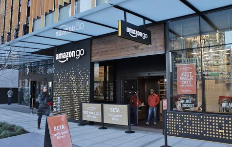 Prototype Amazon Go store in Seattle, WA.